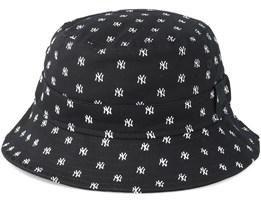 New York Yankees Monogram black Bucket - New Era