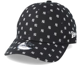 New York Yankees Monogram 9Forty Black Adjustable - New Era