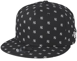 Kids New York Yankees 9Fifty Monogram Black Snapback - New Era