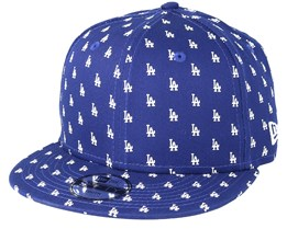 Kids Los Angeles Dodgers 9Fifty Monogram Navy Snapback - New Era