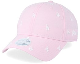Los Angeles Dodgers Womens 9Forty Monogram Pink Adjustable - New Era