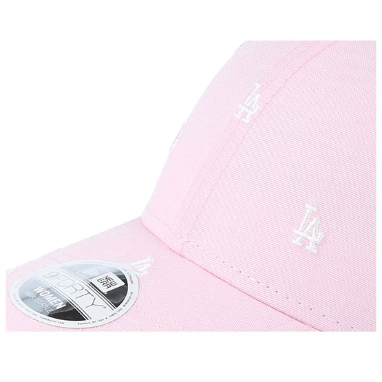 Los Angeles Dodgers Womens 9Forty Monogram Pink Adjustable - New Era lippis  - Hatstore.fi dad6e7281d