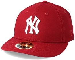 New York Yankees Chain Low Profile 59Fifty Cardinal Fitted - New Era