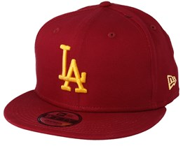 Los Angeles Dodgers League Essential 9Fifty Cardinal/Gold Snapback - New Era