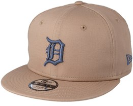 Kids Detroit Tigers League Essential 9Fifty Camel Snapback - New Era