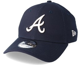 Atlanta Braves League Essential 9Forty Navy Adjustable - New Era