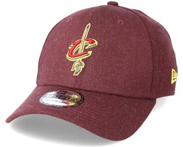 Cleveland Cavaliers Patriots 39Thirty Team Heather Red Flexfit - New Era