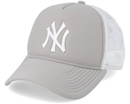 Essential Womens 9Forty Gray/White Adjustable - New Era