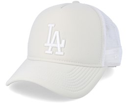 Essential Womens 9Forty Stone/White Adjustable - New Era