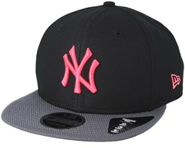 New York Yankees Diamond Pop 9Fifty Black Snapback - New Era