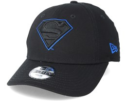 Superman Character 9Forty Black Adjustable - New Era