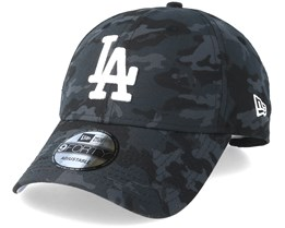 Los Angeles Dodgers Team 9Forty Charcoal Camo Adjustable - New Era