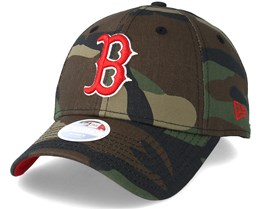 Boston Red Sox Women Team 9Forty Green Camo Adjustable - New Era