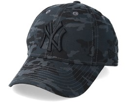 Kids New York Yankees 9Forty Black Camo Adjustable - New Era