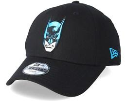Kids 9Forty Batman Face Black Adjustable - New Era