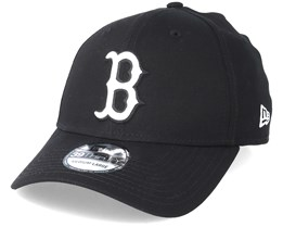 Boston Red Sox 39Thirty Black Flexfit - New Era