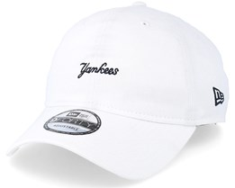New York Yankees 9Forty White Adjustable - New Era