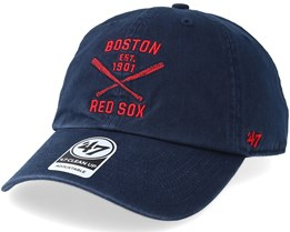 Boston Red Sox Axis Clean Up Adjustable - 47 Brand