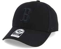 Boston Red Sox Mvp Black/Black Adjustable - 47 Brand