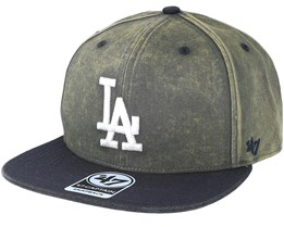 Los Angeles Dodgers Navy Cement Snapback - 47 Brand