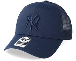 New York Yankees Branson Navy Trucker - 47 Brand