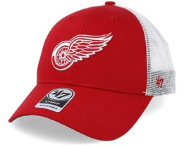 Detroit Red Wings Branson Red Trucker - 47 Brand