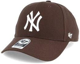 New York Yankees Mvp Brown Adjustable - 47 Brand