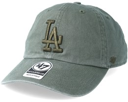 Los Angeles Dodgers Clean Up Moss Adjustable - 47 Brand