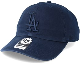Los Angeles Dodgers Clean Up Navy Adjustable - 47 Brand
