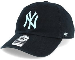 New York Yankees Clean Up Black/Mint Adjustable - 47 Brand