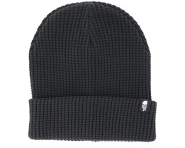 Waffle Black Beanie - The North Face