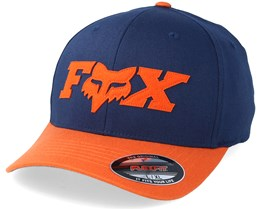 Dun Navy/Orange Flexfit - Fox