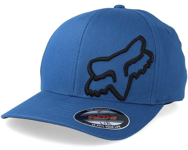 Flex 45 Blue Black Flexfit - Fox keps - Hatstore.se 6ee7b8edb5c48