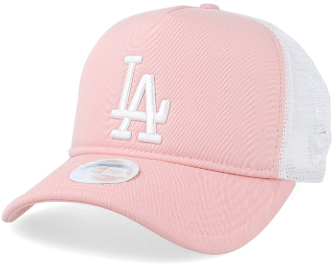 Los Angeles Dodgers League Essential Women Pink White Trucker - New Era  lippis - Hatstore.fi c5d8cb20af