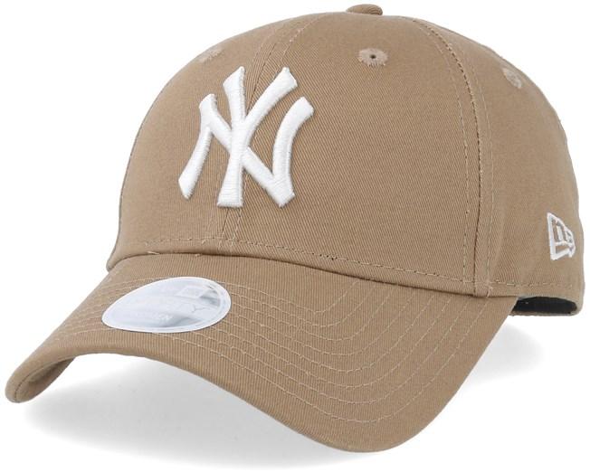 New York Yankees Women League Essential 9Forty Khaki White Adjustable - New  Era fa1d576c46a