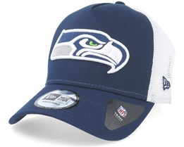 Seattle Seahawks Team Essential Navy Trucker - New Era