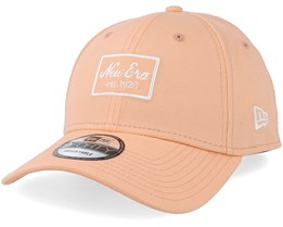 Script Patch 9Forty Peach Adjustable - New Era