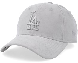 Los Angeles Dodgers Micro Cord 9Forty Grey Adjustable - New Era