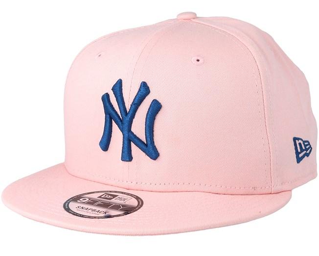 ec76e311fceb42 ... spain new york yankees league essential 9fifty pink navy snapback new  era caps hatstore 0f71a 79b7b