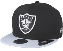 Kids Oakland Raiders Essential 9Fifty Black/Grey Snapback - New Era