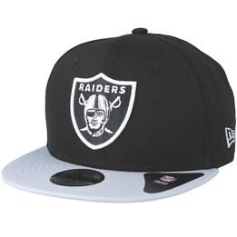 New Era Kids Oakland Raiders Essential 9Fifty Black Grey Snapback - New Era  27 a02a63a1f7