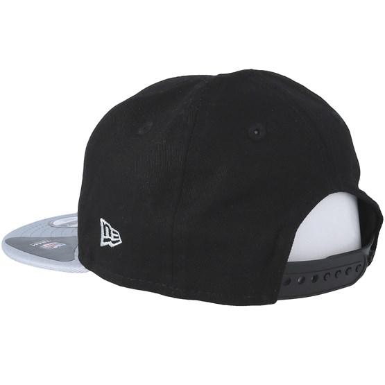 Kids Oakland Raiders Essential 9Fifty Infant Black Grey Snapback - New Era  caps  ec6ad08eb2eb