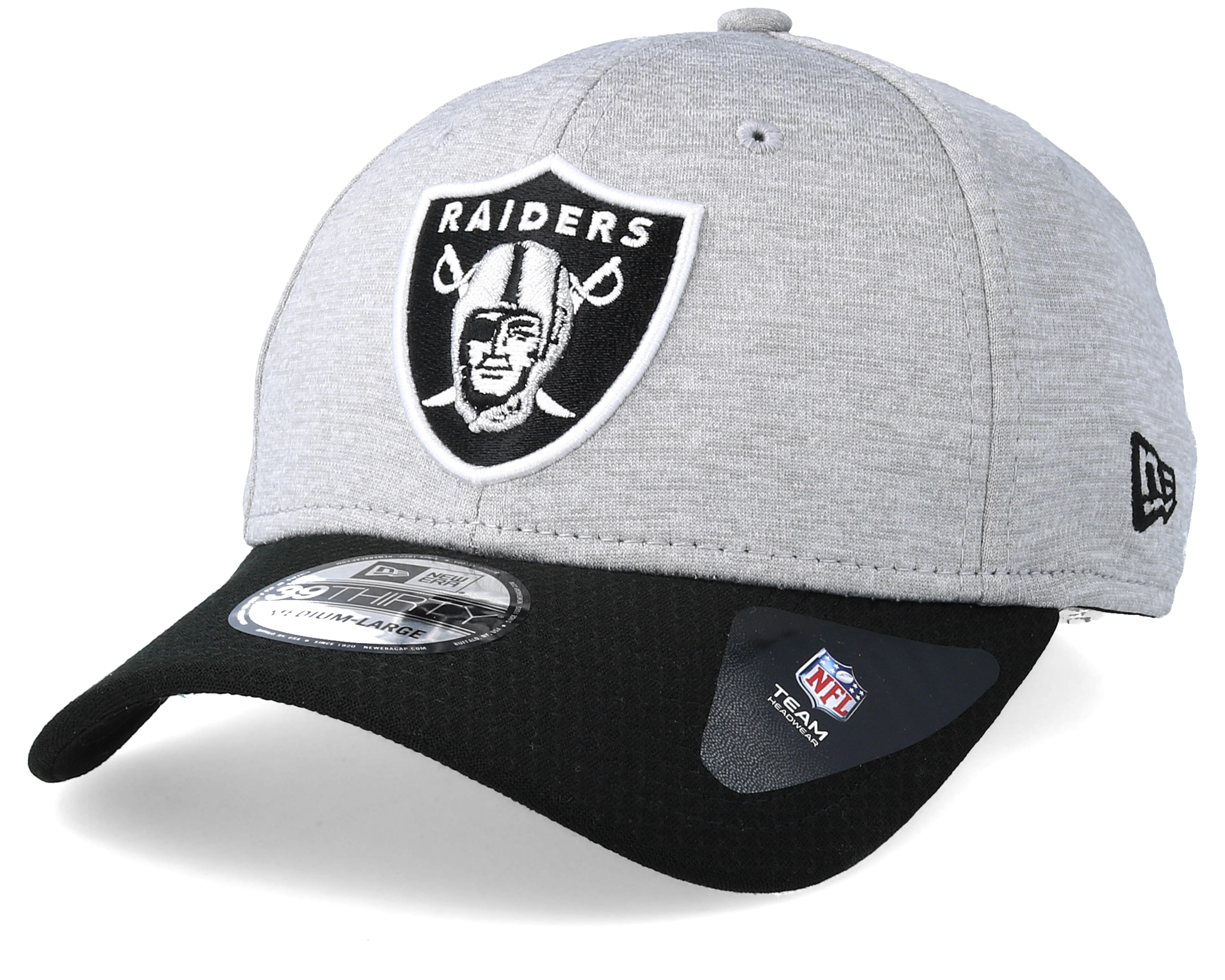 Tuote Kuvaus Oakland Raiders Jersey Hex 39Thirty Grey Black Flexfit - New  Era 066073f575