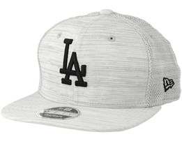 Los Angeles Dodgers Engineered Fit 9Fifty Light Grey/Black Snapback - New Era