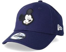 Kids Mickey Mouse Disney Patch 9Forty Navy Adjustable - New Era
