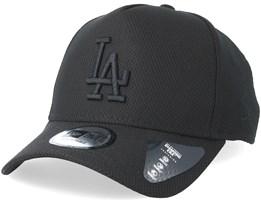 Los Angeles Dodgers Diamond A-Frame Black/Black Adjustable - New Era