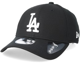 Los Angeles Dodgers Diamond 39Thirty Black Flexfit - New Era