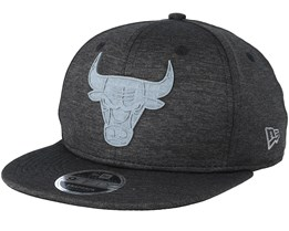 Chicago Bulls Concrete Jursey 9Fifty Black/Grey Snapback - New Era