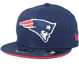 Kids New England Patriots Classic Tm Navy Snapback - New Era