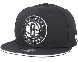 Kids Brooklyn Nets Classic Tm Black Snapback - New Era